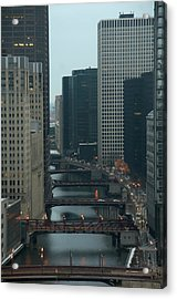 Acrylic Print featuring the photograph Bridges Over The River Chi by Sheryl Thomas