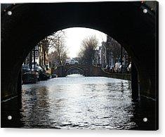 Acrylic Print featuring the photograph Bridges by Scott Hovind