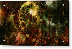 Bridges To Inner Sanctums Acrylic Print by Stephen Lucas