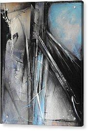 Bridges Two Acrylic Print by Ralph Levesque