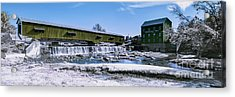 Bridgeton In Infrared Number 1 Acrylic Print by Alan Look