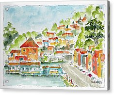 Bridgeway Boulevard Sausalito Acrylic Print