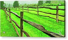 Bridle Trail Acrylic Print