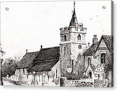 Brighstone Church Acrylic Print