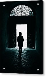 Bright Ancient Doorway Acrylic Print