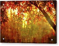 Bright Autumn Magic Acrylic Print