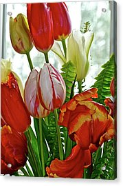 Bright Bouquet Acrylic Print