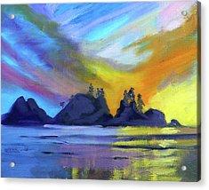 Bright Coast Acrylic Print