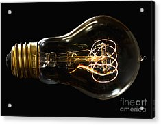 Bright Idea Acrylic Print by Mark Miller