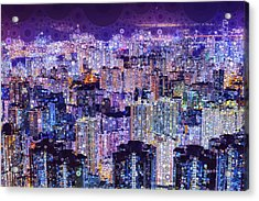 Bright Lights, Big City Acrylic Print