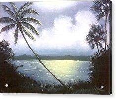 Bright Night Acrylic Print by Francis Roberts ll