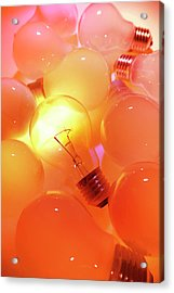 Bright One Acrylic Print by Les Cunliffe