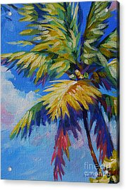 Bright Palm Acrylic Print by John Clark