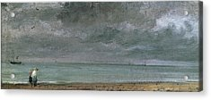 Brighton Beach Acrylic Print by John Constable