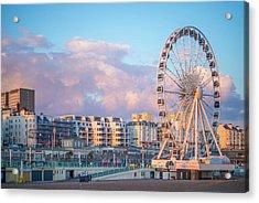 Brighton Ferris Wheel Acrylic Print
