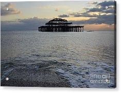 Brighton West Pier Acrylic Print