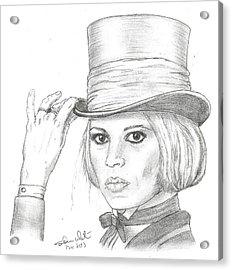 Brigitte Bardot Acrylic Print by Steven White