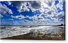 Brilliant Clouds Acrylic Print