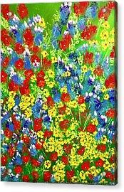 Brilliant Florals Acrylic Print
