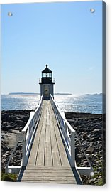 Brilliant Light Acrylic Print by Corinne Rhode