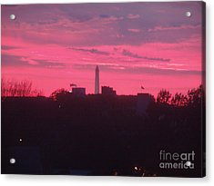 Acrylic Print featuring the photograph Brilliant Sunset 1 by Rod Ismay