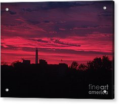 Acrylic Print featuring the photograph Brilliant Sunset 2 by Rod Ismay