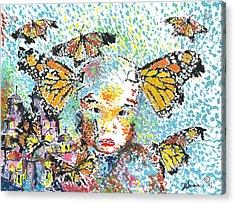 Bring Her Home Safely, Morelia- Sombra De Arreguin Acrylic Print