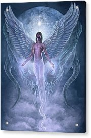 Acrylic Print featuring the digital art Bringer Of Light by Uwe Jarling