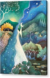 Bringer Of Night Acrylic Print by Amanda Clark