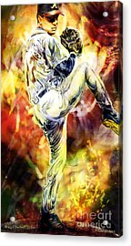 Bringin' The Heat Acrylic Print