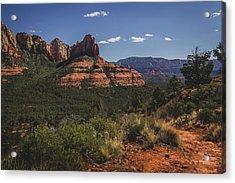 Brins Mesa Trail Vista Acrylic Print