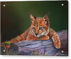 Acrylic Print featuring the painting Brisa by Ceci Watson