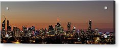 Brisbane City Skyline Acrylic Print by Az Jackson