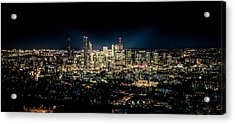 Brisbane Cityscape From Mount Cootha #7 Acrylic Print by Stanislav Kaplunov