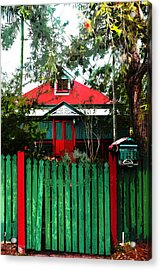 Brisbane Queenslander Acrylic Print