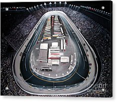 Bristol Motor Speedway Racing The Way It Ought To Be Acrylic Print