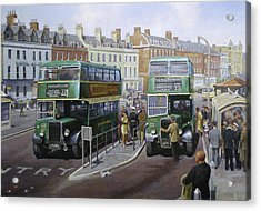 Bristols At Weymouth Acrylic Print by Mike  Jeffries