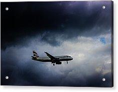 British Airways Jet Acrylic Print by Martin Newman