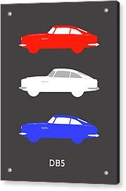 British Icon - Aston Martin Db5 Acrylic Print by Mark Rogan