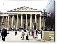 British Museum 3752 Acrylic Print by Charles  Ridgway