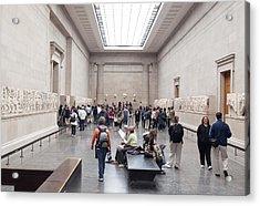 British Museum Gallery 0056 Acrylic Print by Charles  Ridgway