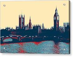 British Parliament Acrylic Print
