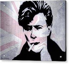 British Rock Acrylic Print by Pennie  McCracken