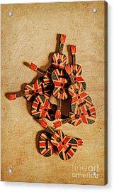 British Sound Stage Acrylic Print