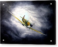 British Spitfire Mk. 1a Acrylic Print
