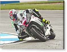 British Superbikes Acrylic Print by Peter Hatter