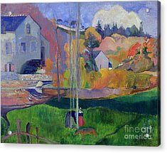 Brittany Landscape Acrylic Print