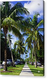 Broad Avenue South, Old Naples Acrylic Print