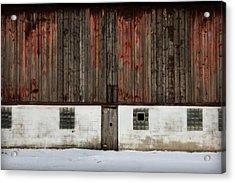 Broad Side Of A Barn Acrylic Print by Julie Hamilton