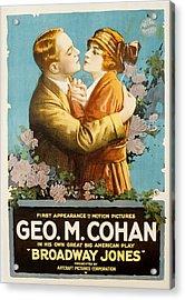 Broadway Jones, George M. Cohan Acrylic Print by Everett